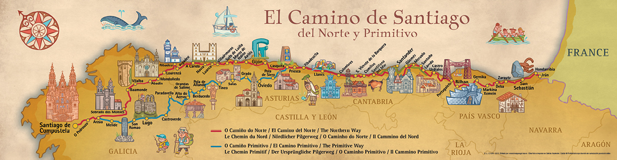 mapa_camino_norte_y_primitivo