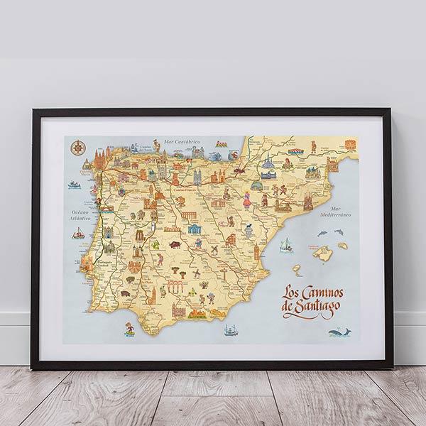 mapa-caminos-de-santaigo